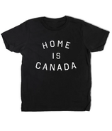 Peace Collective Home is Canada Kids T-Shirt Black