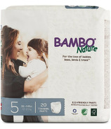 Bambo Nature Eco-Friendly Training Pants Size 5