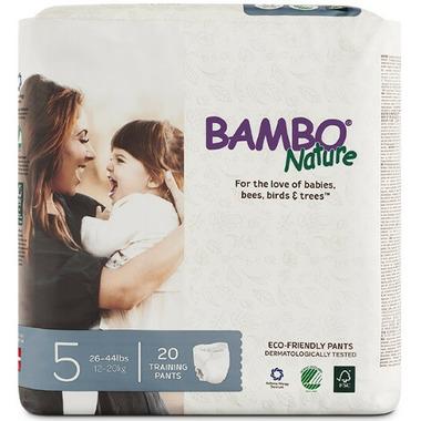 Bambo Nature Eco-Friendly Training Pants Size 5