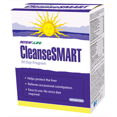Renew Life CleanseSMART Full Body Cleanse 30 Day Program 1 Kit