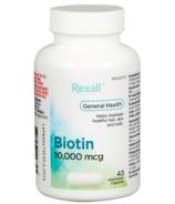 Rexall Biotin 10,000 mcg