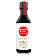 San-J Sauce soja à teneur réduite en sodium sans gluten et biologique Tamari