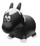 Farm Hoppers Inflatable Bouncing Horse Black