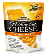 Ivanhoe Nothing but Cheese Pouches Cheddar