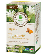 Traditional Medicinals Organic Turmeric Meadowsweet & Ginger Tea