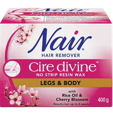 Nair Cire Divine Microwave Resin Wax with Japanese Cherry Blossom