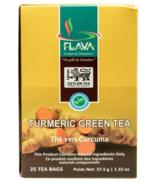 FLAVA Turmeric Green Tea