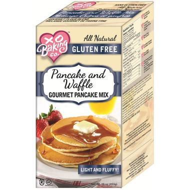 XO Baking Gluten Free Gourmet Pancake & Waffle Mix