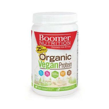 Boomer Nutrition Organic Vegan Protein Vanilla