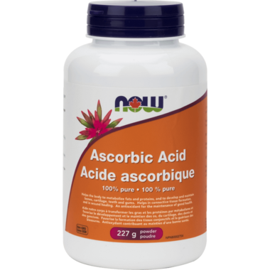 NOW Foods 100% Pure Ascorbic Acid Powder