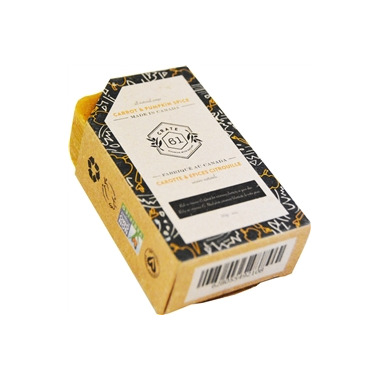 Crate 61 Organics Carrot & Pumpkin Spice Soap