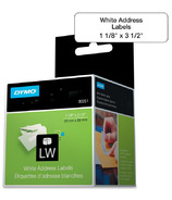 Dymo LabelWriter White Address Labels