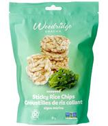 Woodridge Snacks Seaweed Sticky Rice Chips