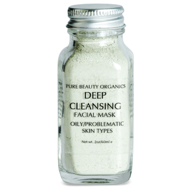 Pure Beauty Organics Deep Cleansing Facial Mask