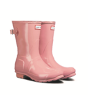 Hunter Boots Original Short Adjustable Gloss Candy Pink