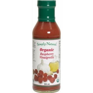 Simply Natural Organic Raspberry Vinaigrette Dressing
