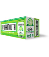 Sparkmouth Lime Sparkling Water