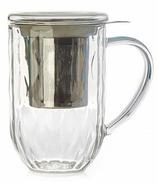 DAVIDsTEA Nordic Mug Glass Weave