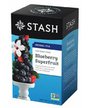 Stash Blueberry Superfruit Herbal Tea