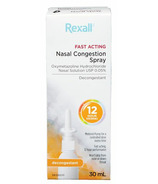 Rexall Fast Acting Nasal Congestion Spray