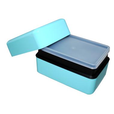 Takenaka Bento-Box Rectangle Light Blue Lunch Box