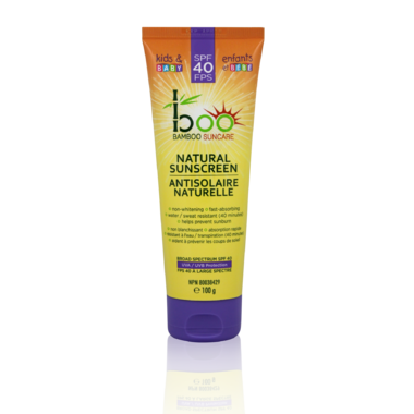 Boo Bamboo Baby & Kids Natural Sunscreen with Bamboo Extract
