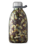 S'well Green Camo Collection Stainless Steel Water Bottle Incognito Roamer