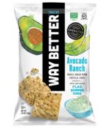Way Better Snacks Avocado Ranch Corn Tortilla Chips