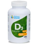 Vitamine D3 Platinum Naturals
