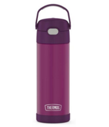 Thermos Stainless Steel FUNtainer Bottle with Spout Red Violet