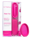 INTIMINA Ziggy Cup - Menstrual Cup with Flat-fit Design