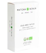 Paquets de Matcha Ninja Cold Brew Matcha