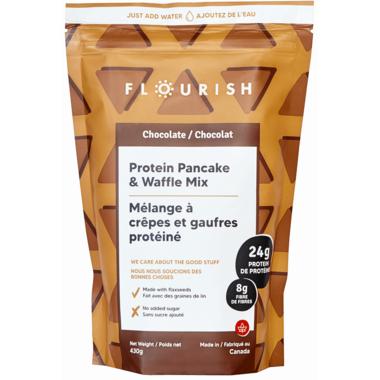 Flourish Chocolate Protein Pancake Mix