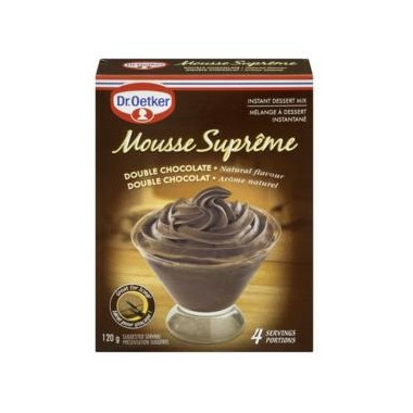 Dr Oetker Double Chocolate Mousse Supreme Mix At Well Ca Free Shipping 35 In Canada