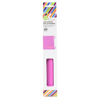 Chewbeads Silicone Roll-Up Placemat Purple