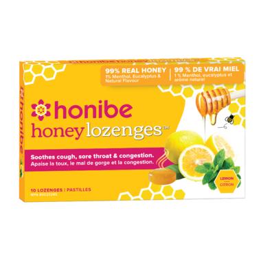 Honibe Honey Lozenges with Lemon