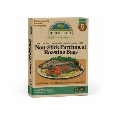 If You Care Non-Stick Parchment Roasting Bag Medium