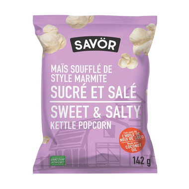 Savor Kettle Popcorn Sweet & Salty