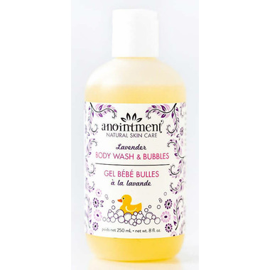 Anointment Natural Skin Care Lavender Bubble Bath & Body Wash