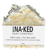 Buck Naked Soap Company Poppy Seed & Tea Tree Bar Soap