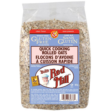 Bob\'s Red Mill Gluten Free Quick Cooking Rolled Oats