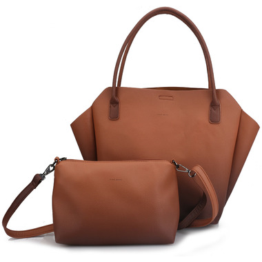 Pixie Mood Rachel Tote Small Ombre Nutmeg