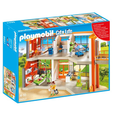 Playmobil Furnished Children\'s Hospital