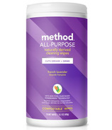 Method All Purpose Cleaning Wipes French Lavender