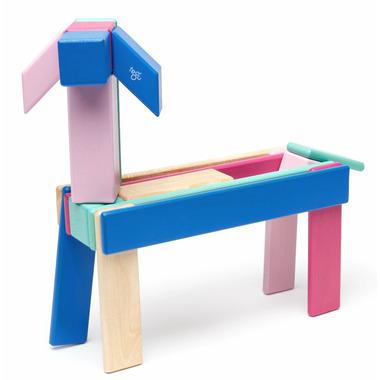Tegu Magnetic Wooden Block Set Blossom