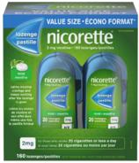 NICORETTE Pastilles Nicotine Menthe 2mg