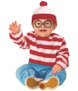 Rubie's Where's Waldo Jumpsuit