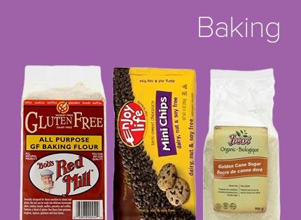 Ingrédients de pâtisserie