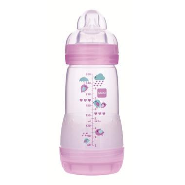 Mam Anti-Colic Bottle 9oz Pink