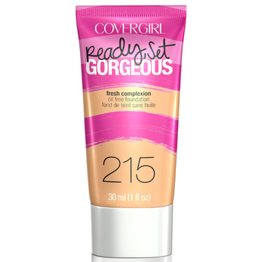 CoverGirl Ready, Set Gorgeous Liquid Makeup 215